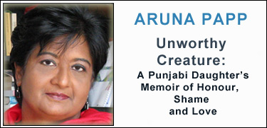 Aruna Papp, Memoir of Honor, Shame and Love