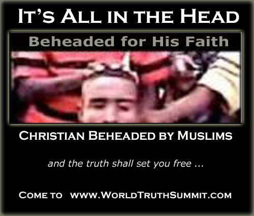 Christian persecution by Muslims - Christian beheaded