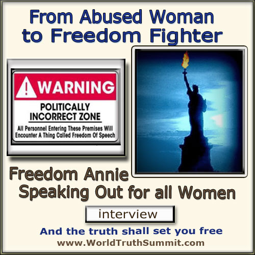Freedom Annie - Politically Incorrect - Woman in Islam - No Sharia