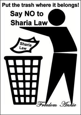 No Sharia Law