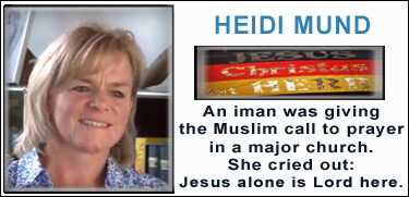 Heidi Mund, brave German woman calls out truth