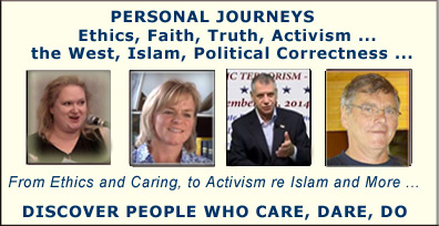 Human Rights Activism - Speaking Out for Freedom of Speech, Truth about Islam,