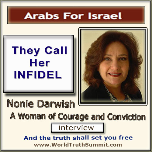 Nonie Darwish, infidel - Arabs for Israel
