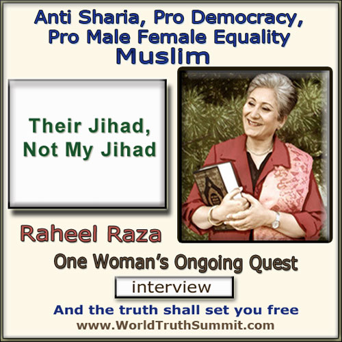 Raheel Raza, Anti Sharia Muslim