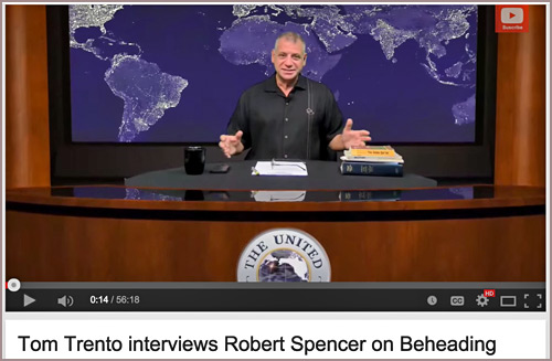 Tom Trento and Robert Spencer on an Islamic beheading