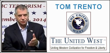 Tom Trento, The United West, for Freedom and Liberty, against Islamic Terrorism